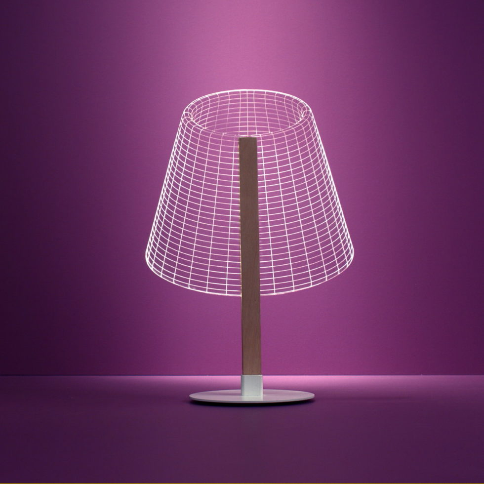 The new version of the Bulbing lamp with 3D-effect by Nir Chehanowski ClASSi 1