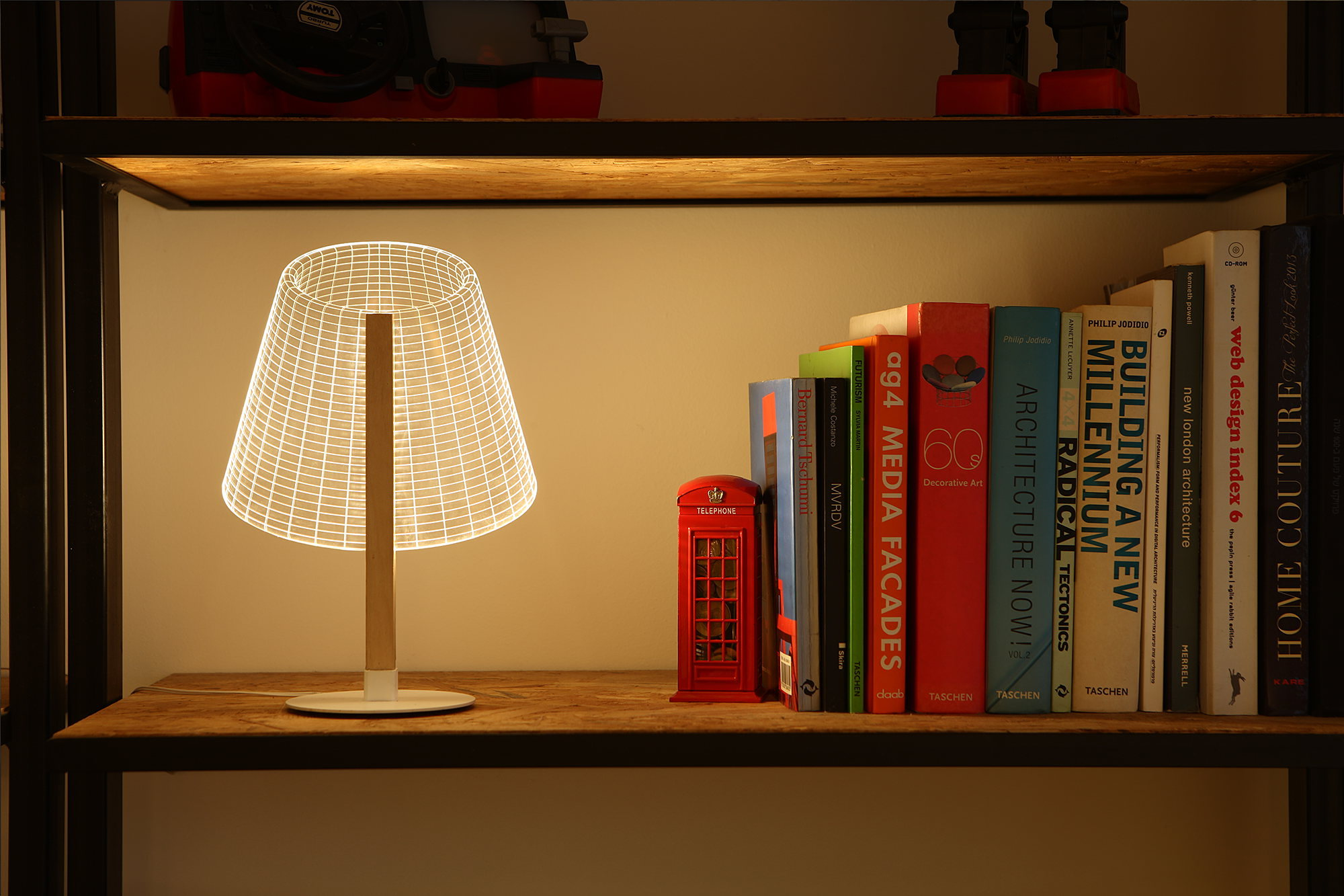 The new version of the Bulbing lamp with 3D-effect by Nir Chehanowski ClASSi 2