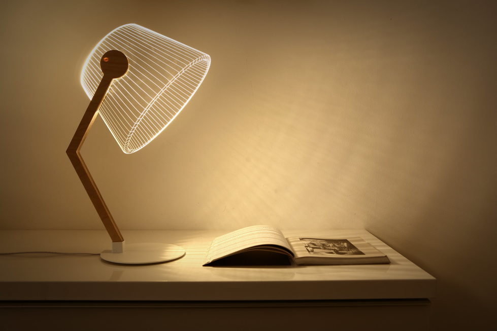 The new version of the Bulbing lamp with 3D-effect by Nir Chehanowski ZIGGI 2