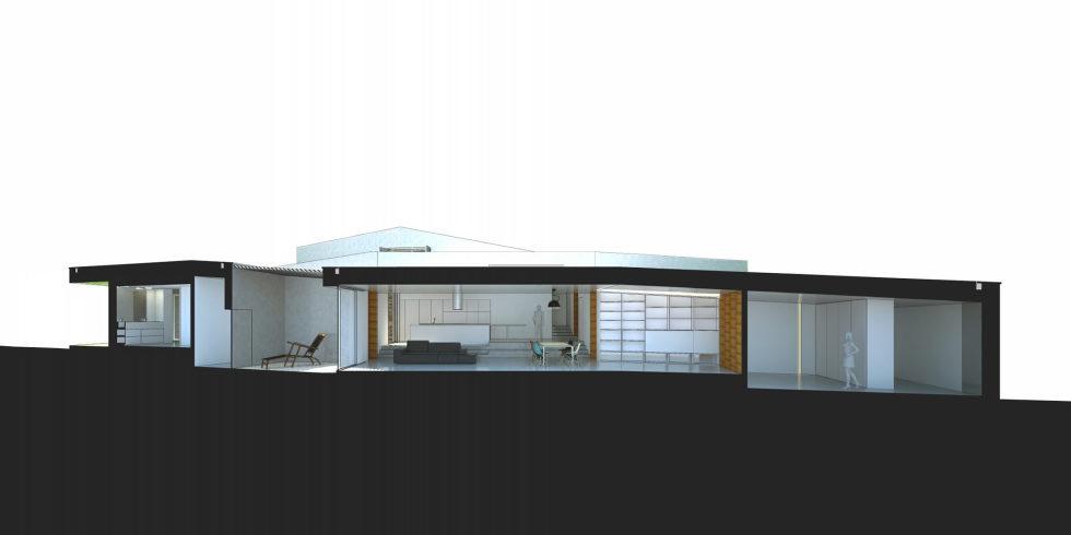 Camarim Arquitectos House in Gateira Plan 6