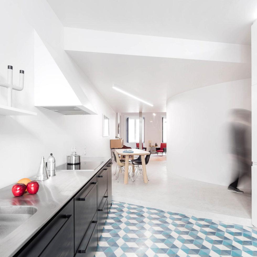 Chiado Apartments Seamless Day Spaces by Fala Atelier 1