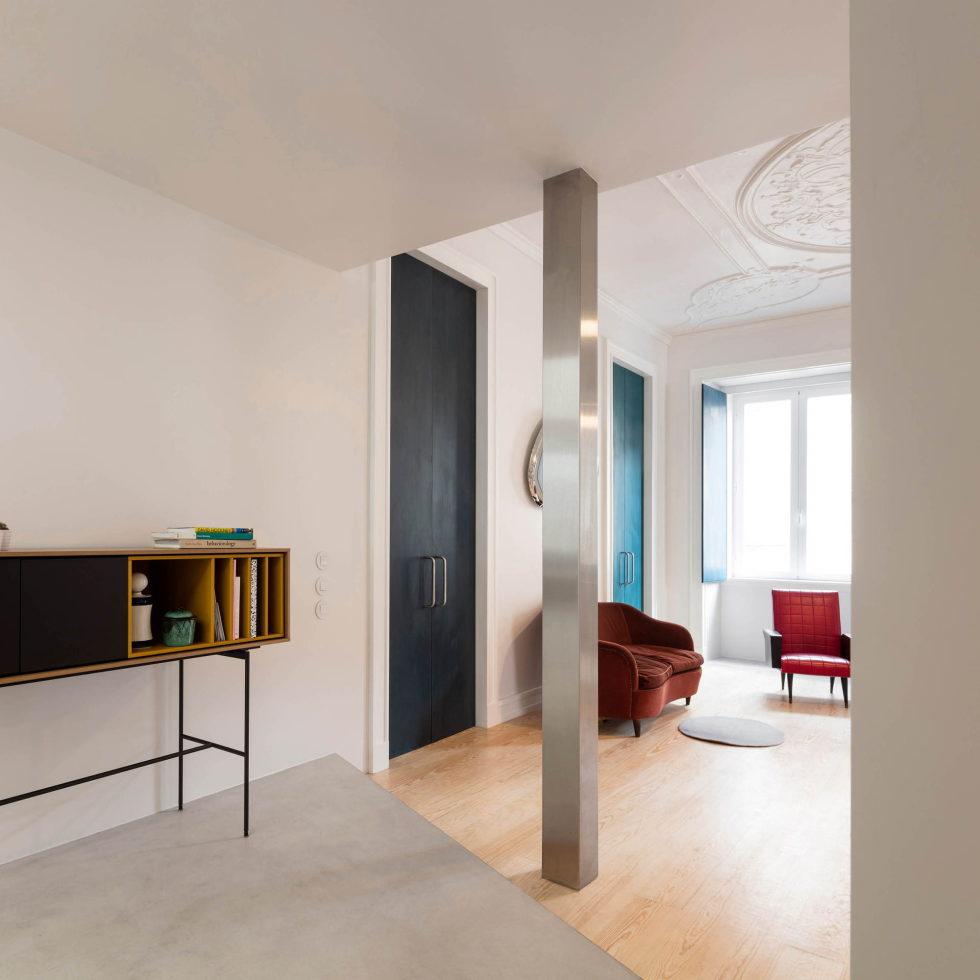 Chiado Apartments Seamless Day Spaces by Fala Atelier 10