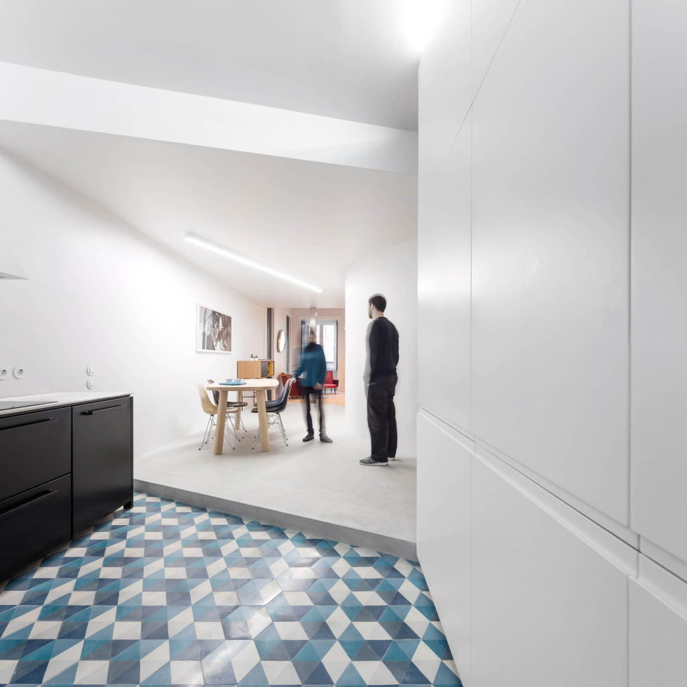 Chiado Apartments Seamless Day Spaces by Fala Atelier 12