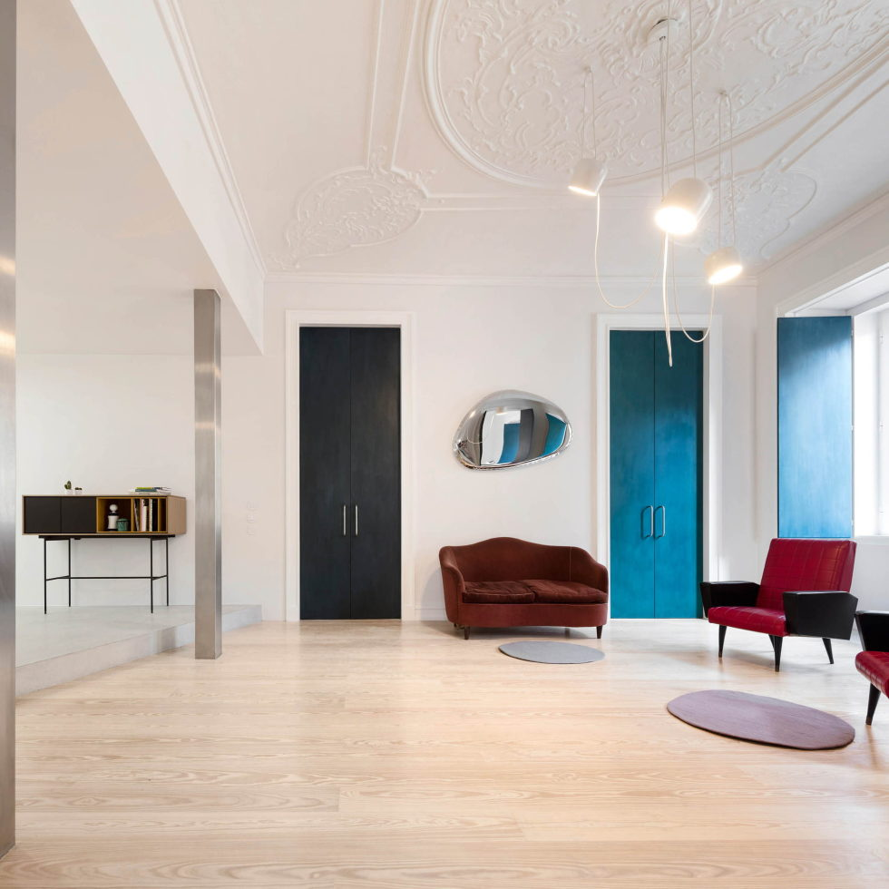 Chiado Apartments Seamless Day Spaces by Fala Atelier 13