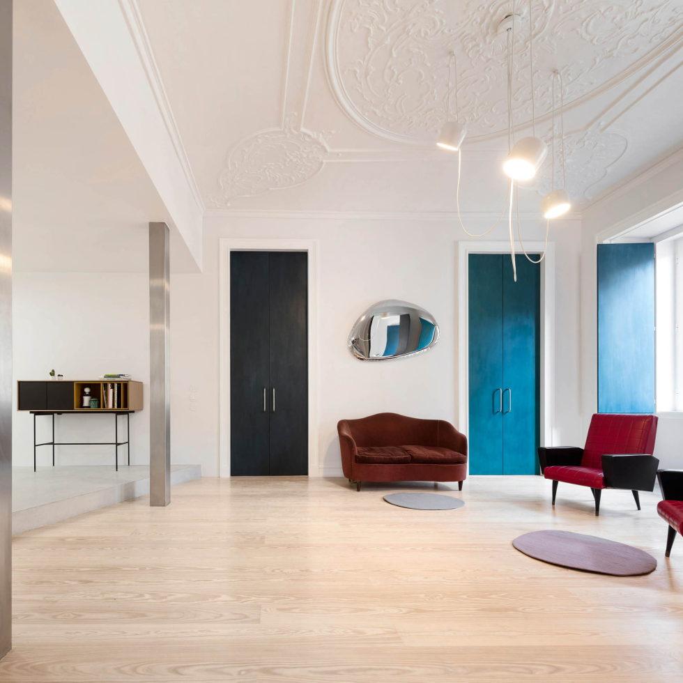 Chiado Apartments Seamless Day Spaces by Fala Atelier 13