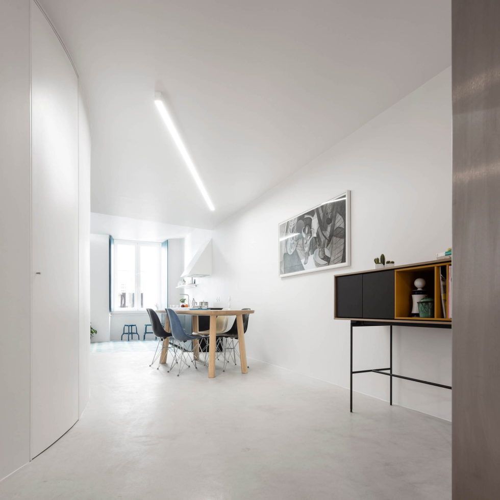 Chiado Apartments Seamless Day Spaces by Fala Atelier 14