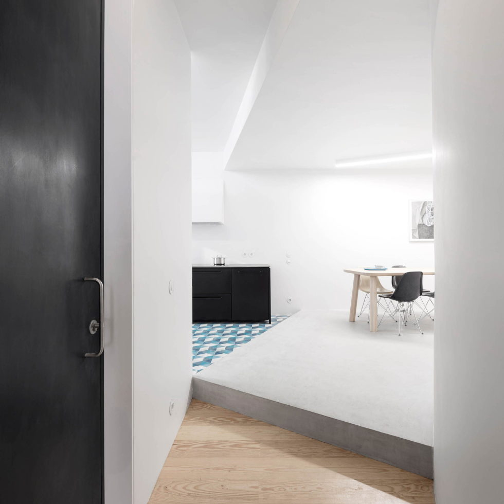 Chiado Apartments Seamless Day Spaces by Fala Atelier 15