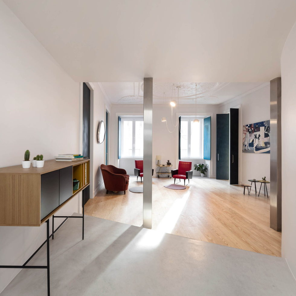 Chiado Apartments Seamless Day Spaces by Fala Atelier 17
