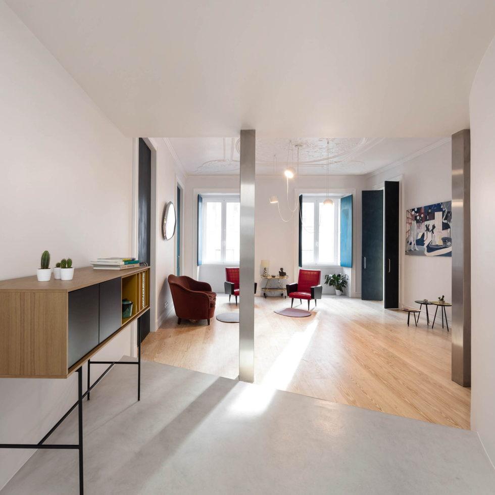Chiado Apartments Seamless Day Spaces by Fala Atelier 17