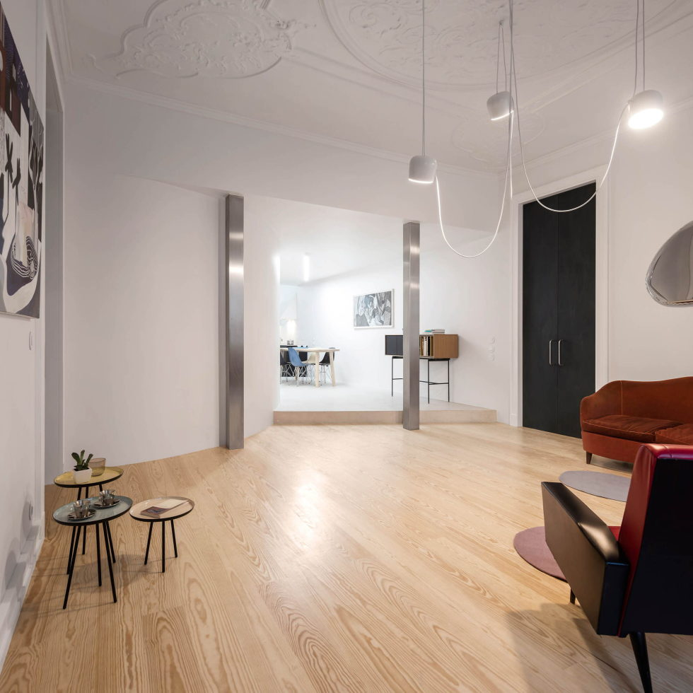 Chiado Apartments Seamless Day Spaces by Fala Atelier 18