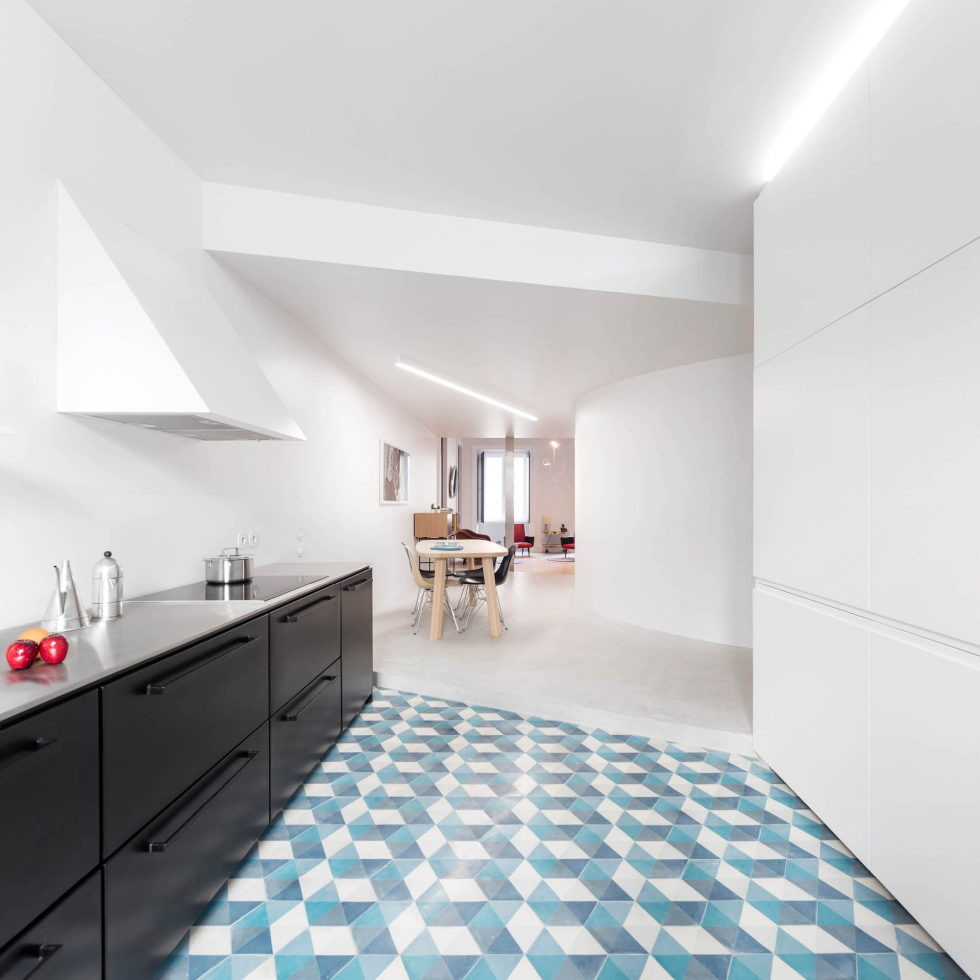 Chiado Apartments Seamless Day Spaces by Fala Atelier 19