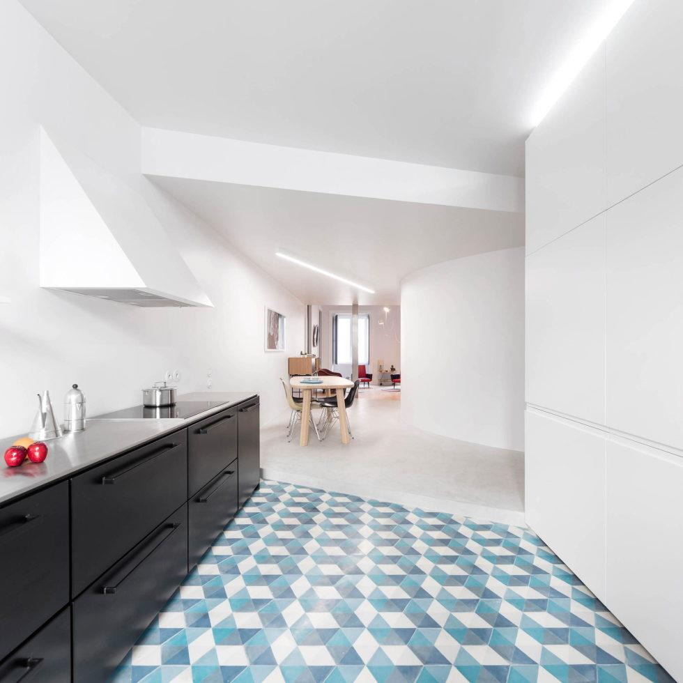 Chiado Apartments Seamless Day Spaces by Fala Atelier 19