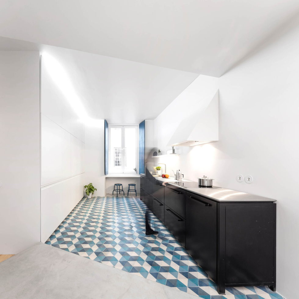 Chiado Apartments Seamless Day Spaces by Fala Atelier 25