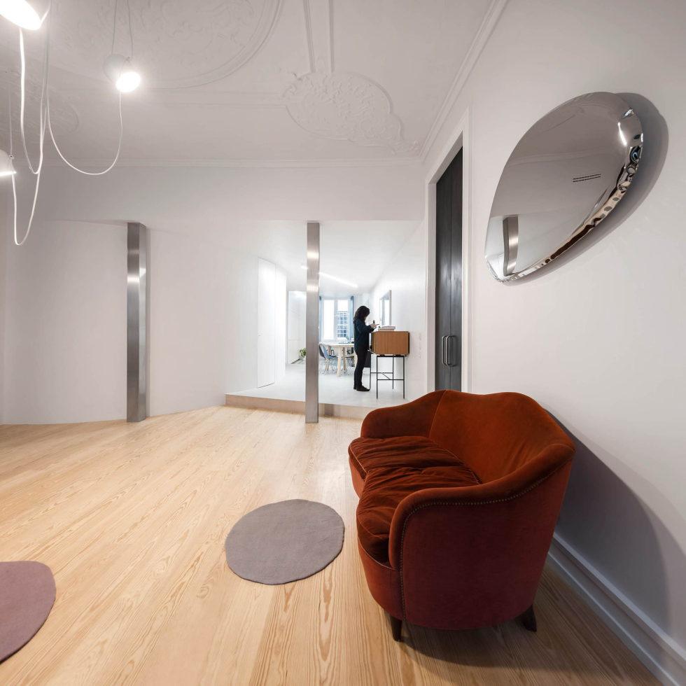 Chiado Apartments Seamless Day Spaces by Fala Atelier 5