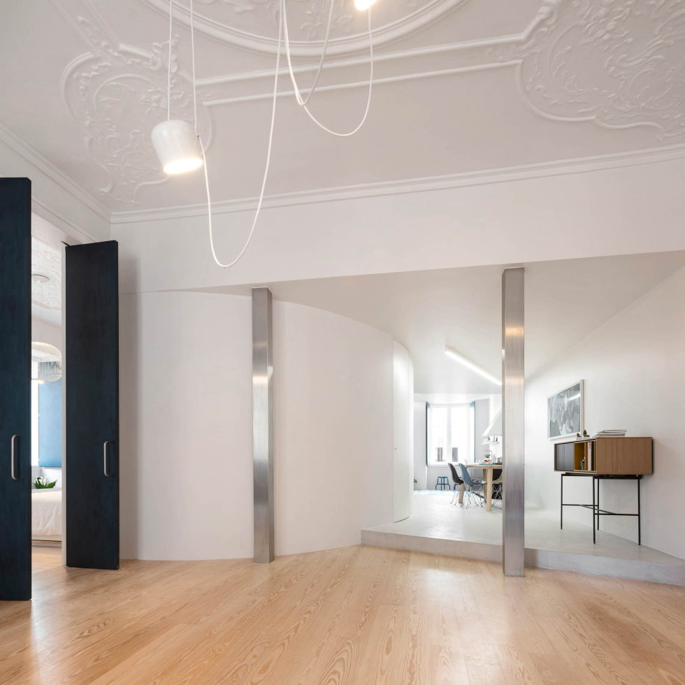 Chiado Apartments Seamless Day Spaces by Fala Atelier 6