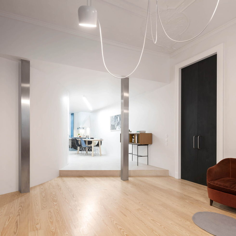 Chiado Apartments Seamless Day Spaces by Fala Atelier 9