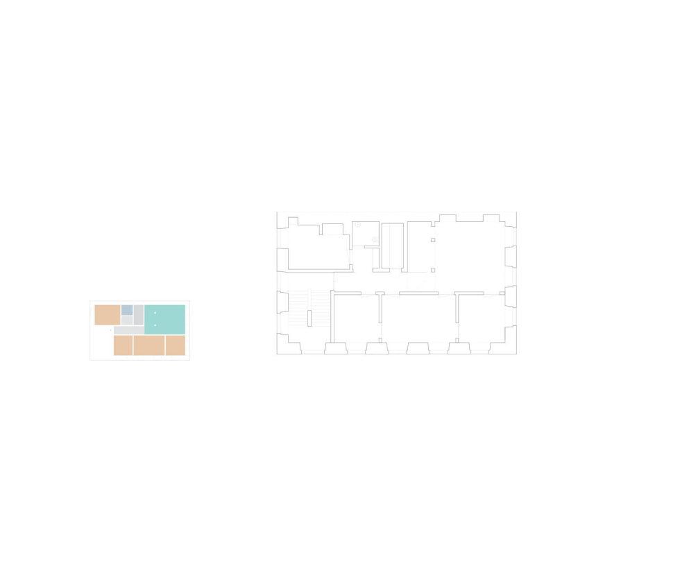 Chiado Apartments Seamless Day Spaces by Fala Atelier Plan 2