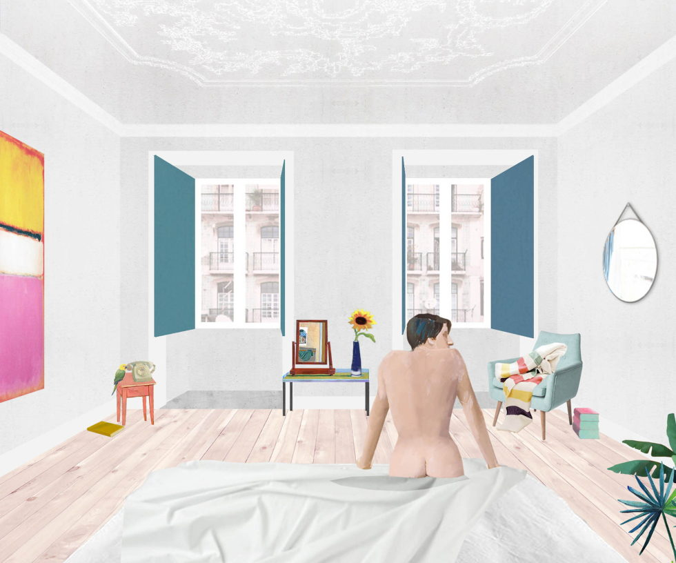 Chiado Apartments Seamless Day Spaces by Fala Atelier Plan 8