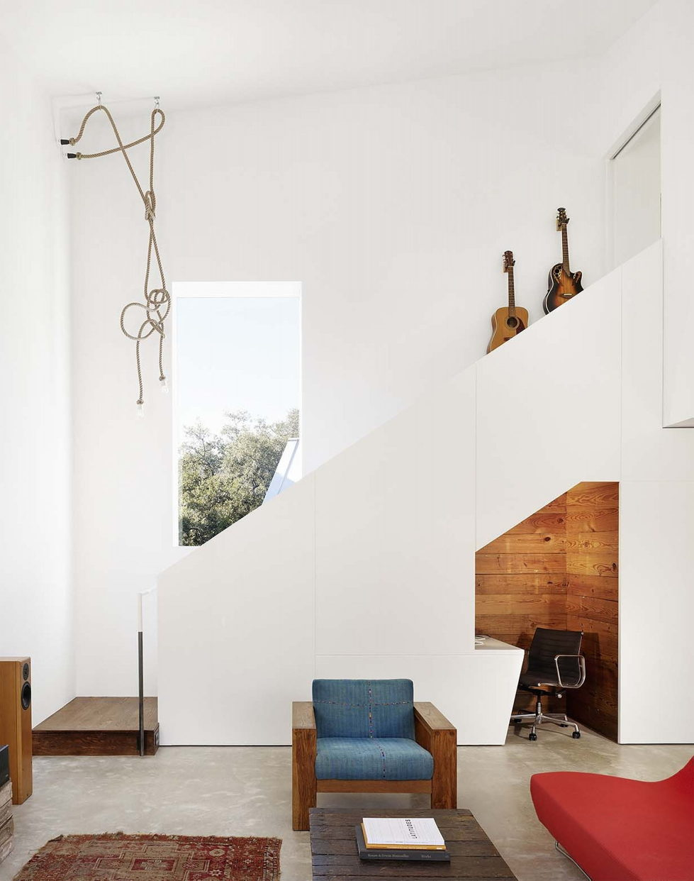 Hillside Residence In Texas Upon The Project Of Alterstudio Architecture Studio 10