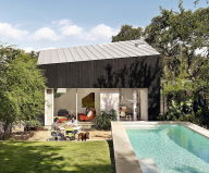 Hillside Residence In Texas Upon The Project Of Alterstudio Architecture Studio 12
