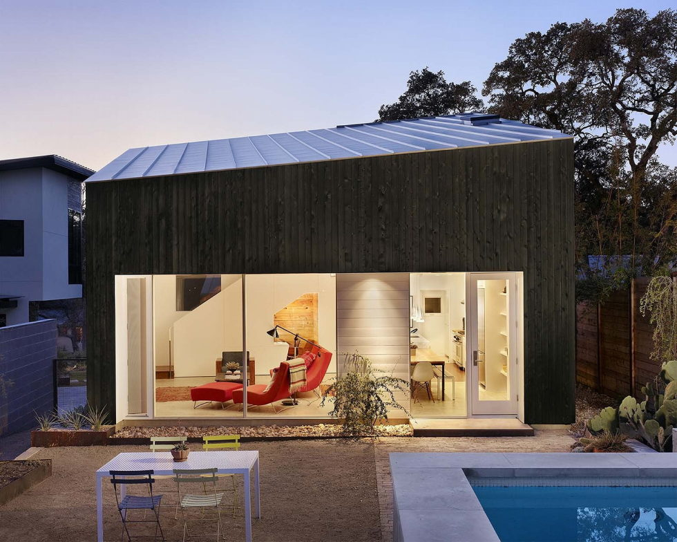 Hillside Residence In Texas Upon The Project Of Alterstudio Architecture Studio 13