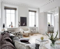 Scandinavian Interior Style A Spacious Flat In Goteborg 2