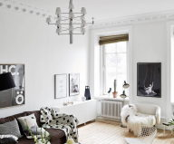 Scandinavian Interior Style A Spacious Flat In Goteborg 3
