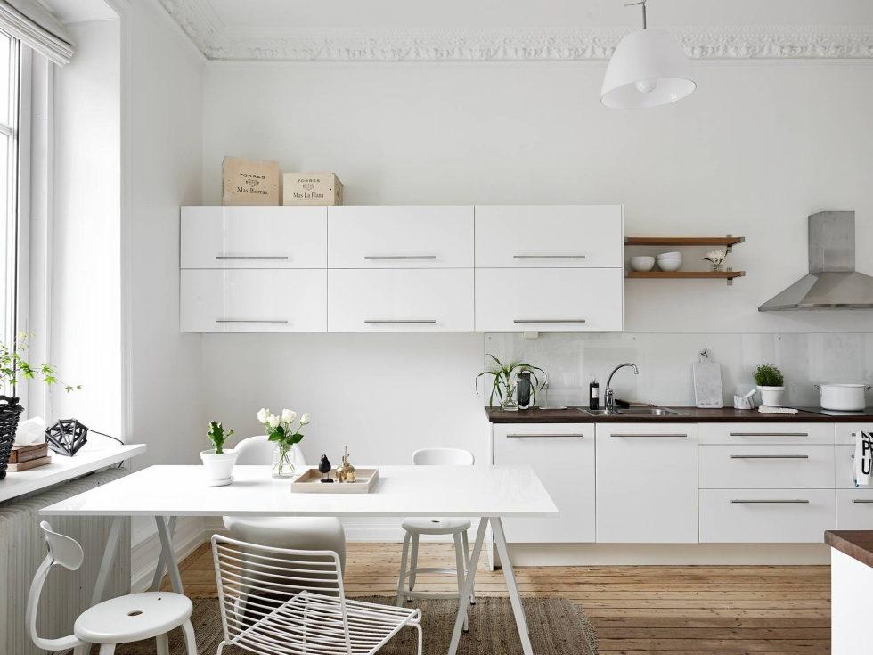 Scandinavian Interior Style A Spacious Flat In Goteborg 4