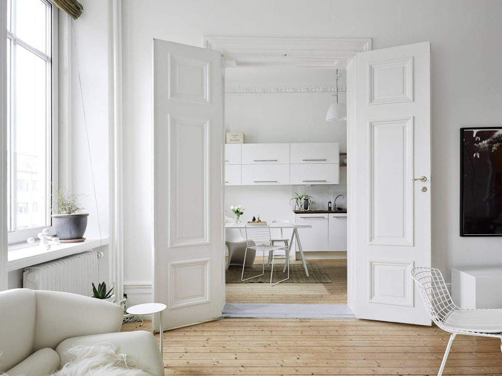 Scandinavian Interior Style A Spacious Flat In Goteborg 5
