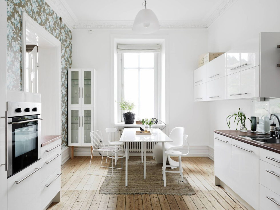 Scandinavian Interior Style A Spacious Flat In Goteborg 6