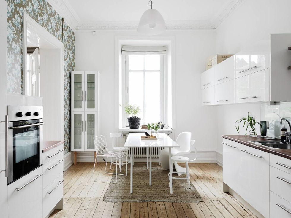 Scandinavian Interior Style A Spacious Flat In Goteborg 6