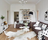 Scandinavian Interior Style A Spacious Flat In Goteborg 9