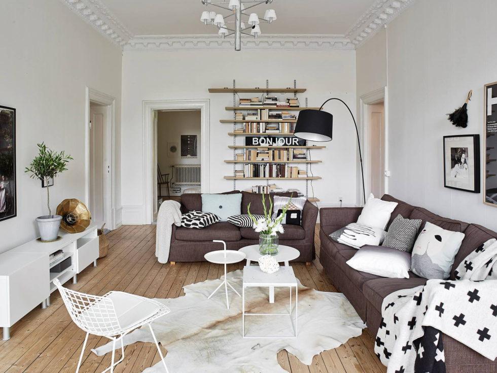 Scandinavian Interior Style A Spacious Flat In Goteborg 9