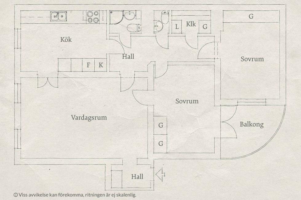 Scandinavian Interior Style A Spacious Flat In Goteborg Plan 1