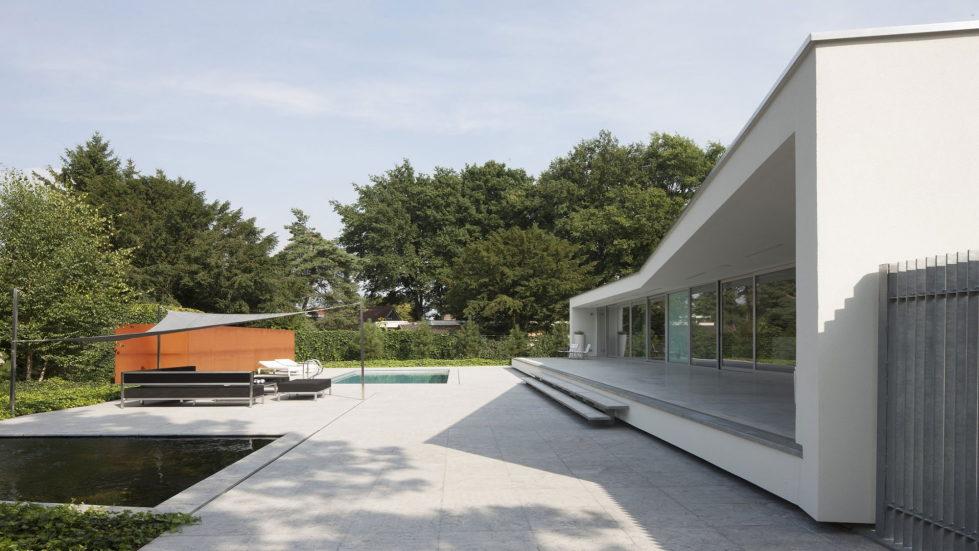 Spee Haelen Minimalism-Style Villa From Lab32 architecten Studio 11