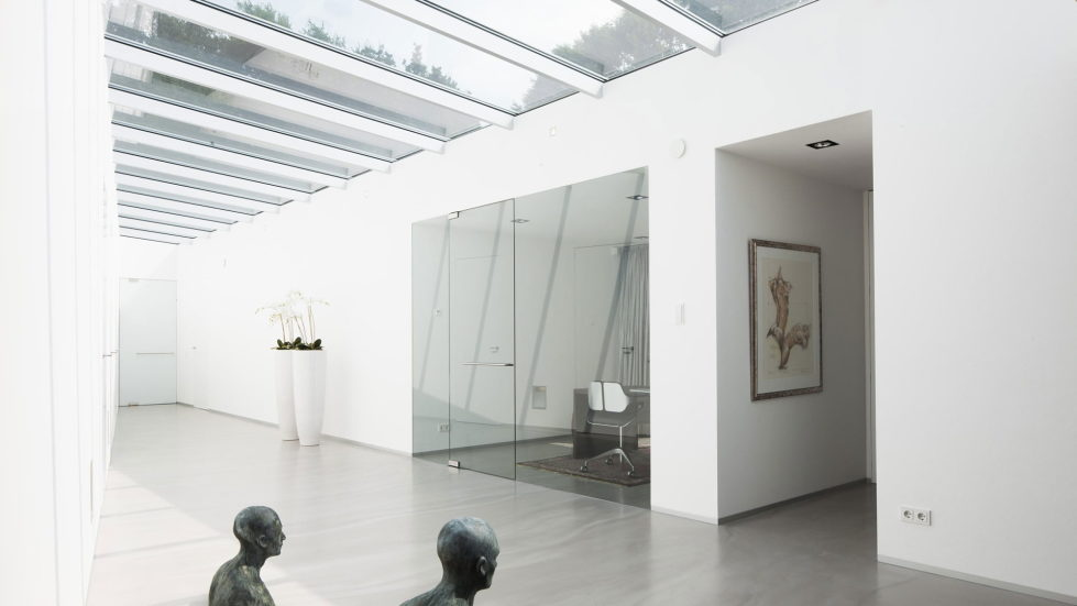 Spee Haelen Minimalism-Style Villa From Lab32 architecten Studio 29