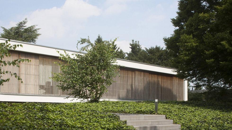 Spee Haelen Minimalism-Style Villa From Lab32 architecten Studio 3