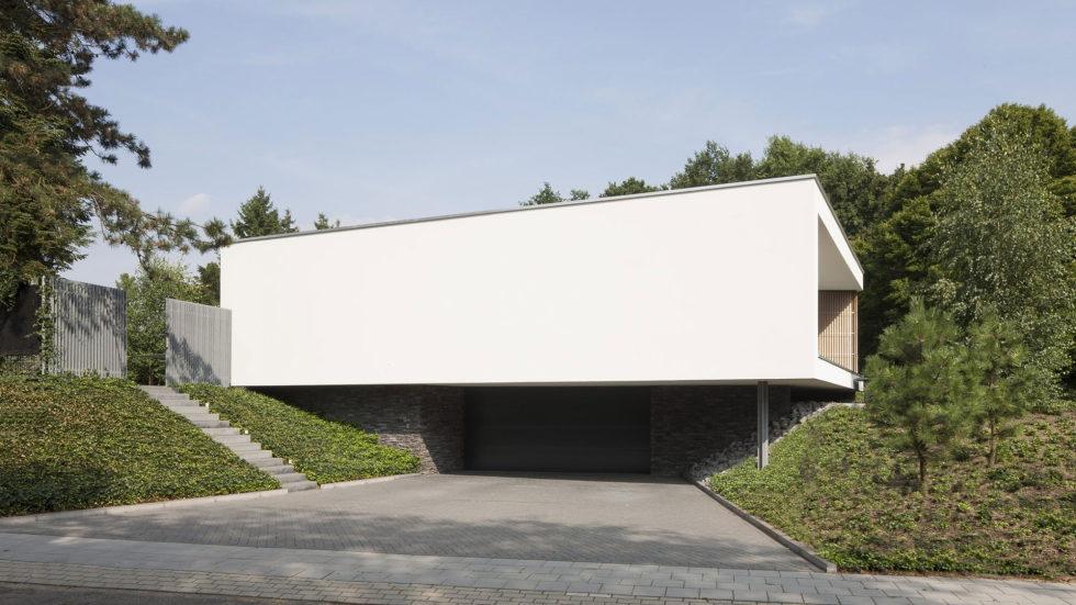 Spee Haelen Minimalism-Style Villa From Lab32 architecten Studio 5