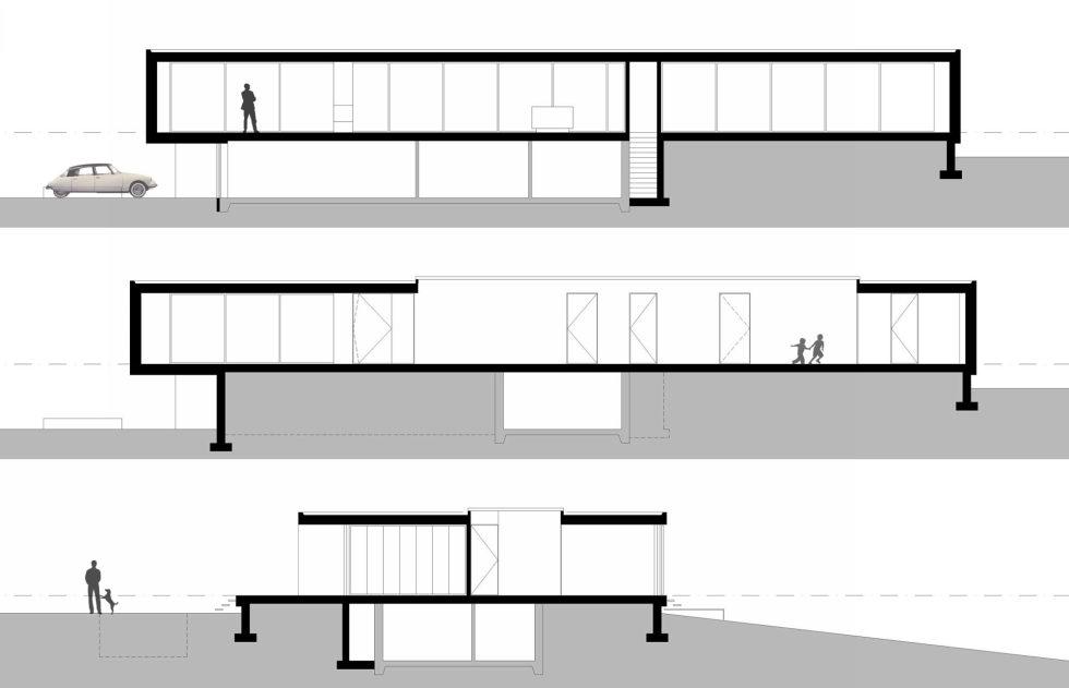 Spee Haelen Minimalism-Style Villa From Lab32 architecten Studio Plan 3
