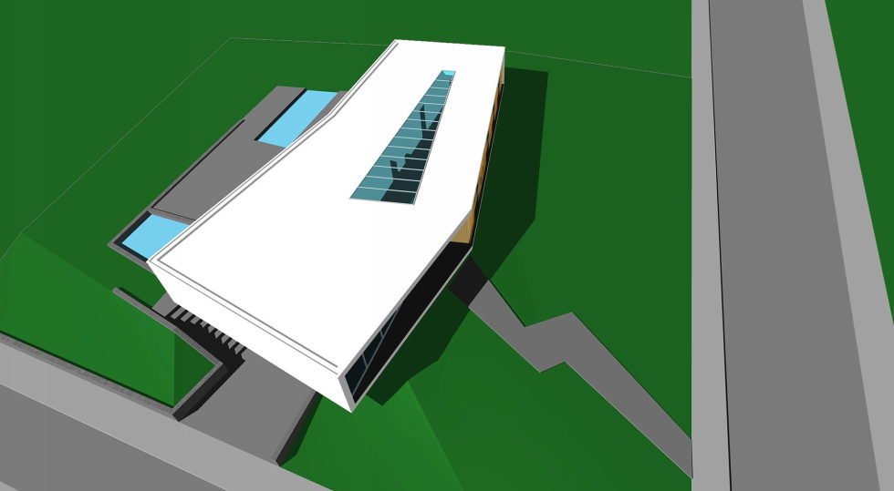 Spee Haelen Minimalism-Style Villa From Lab32 architecten Studio Plan 4