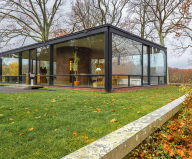 The Glass House in Connecticut 1