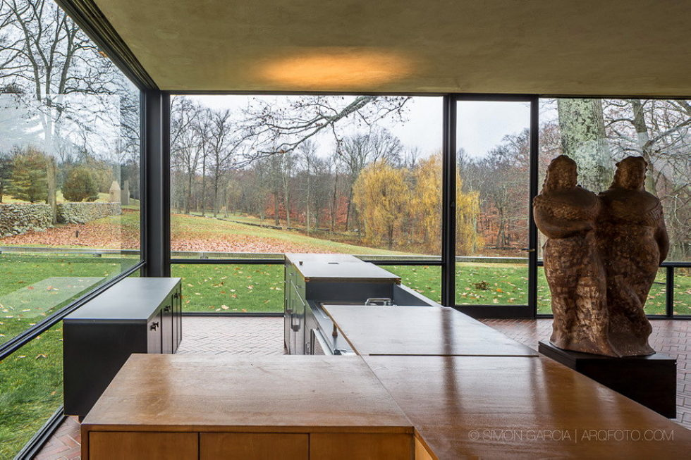 The Glass House in Connecticut 13