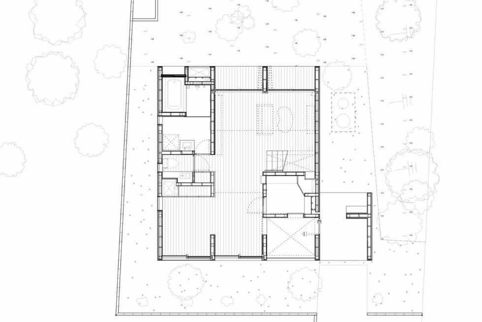 The family idyll in Japan from the Ihrmk studio Plan 1