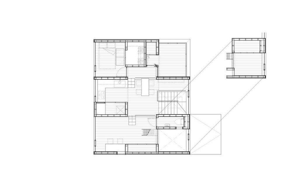 The family idyll in Japan from the Ihrmk studio Plan 2