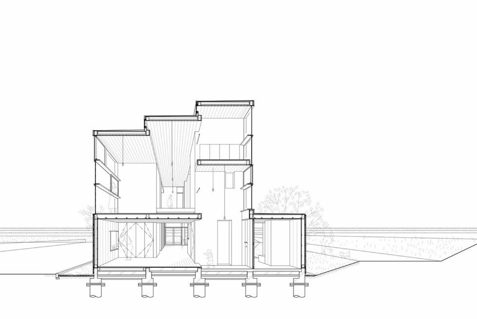The family idyll in Japan from the Ihrmk studio Plan 4