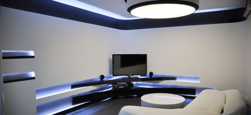 Living room design ideas for Hi tech living room designs