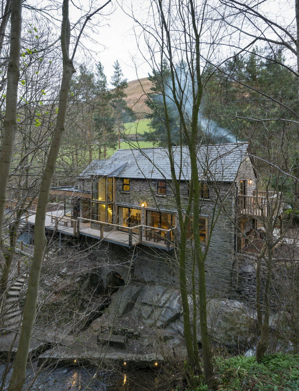 The residence in a building of the XIX century watermill 1