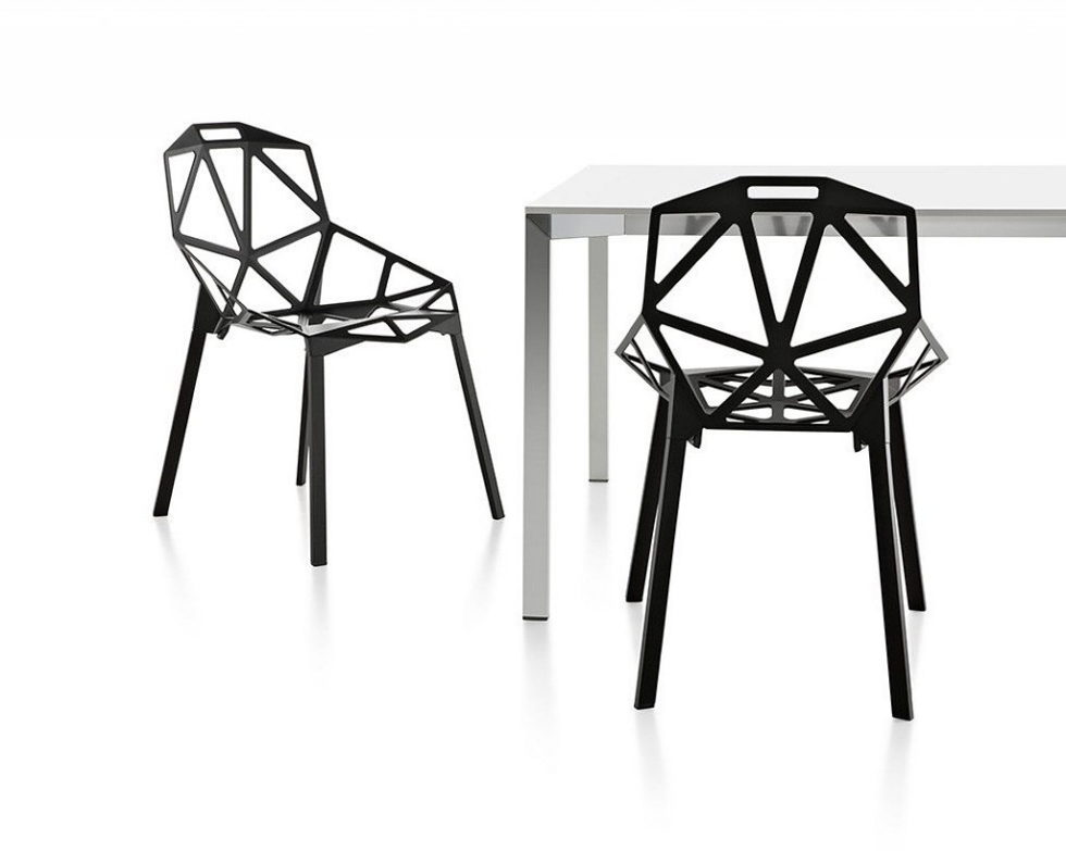 Three Dimensional Chairs Chair One And Stool One