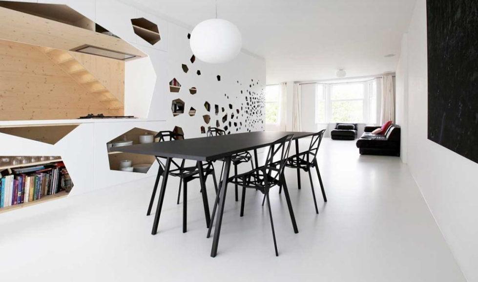 Three-dimensional chairs Chair_One