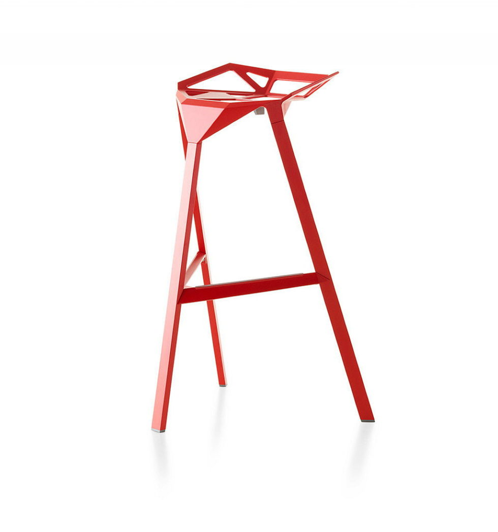 Three-dimensional chairs Stool_One 1
